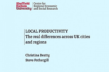 Local Productivity: The real differences across UK cities and regions