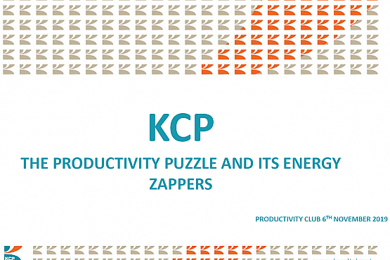 The 'Productivity Puzzle' and its energy zappers