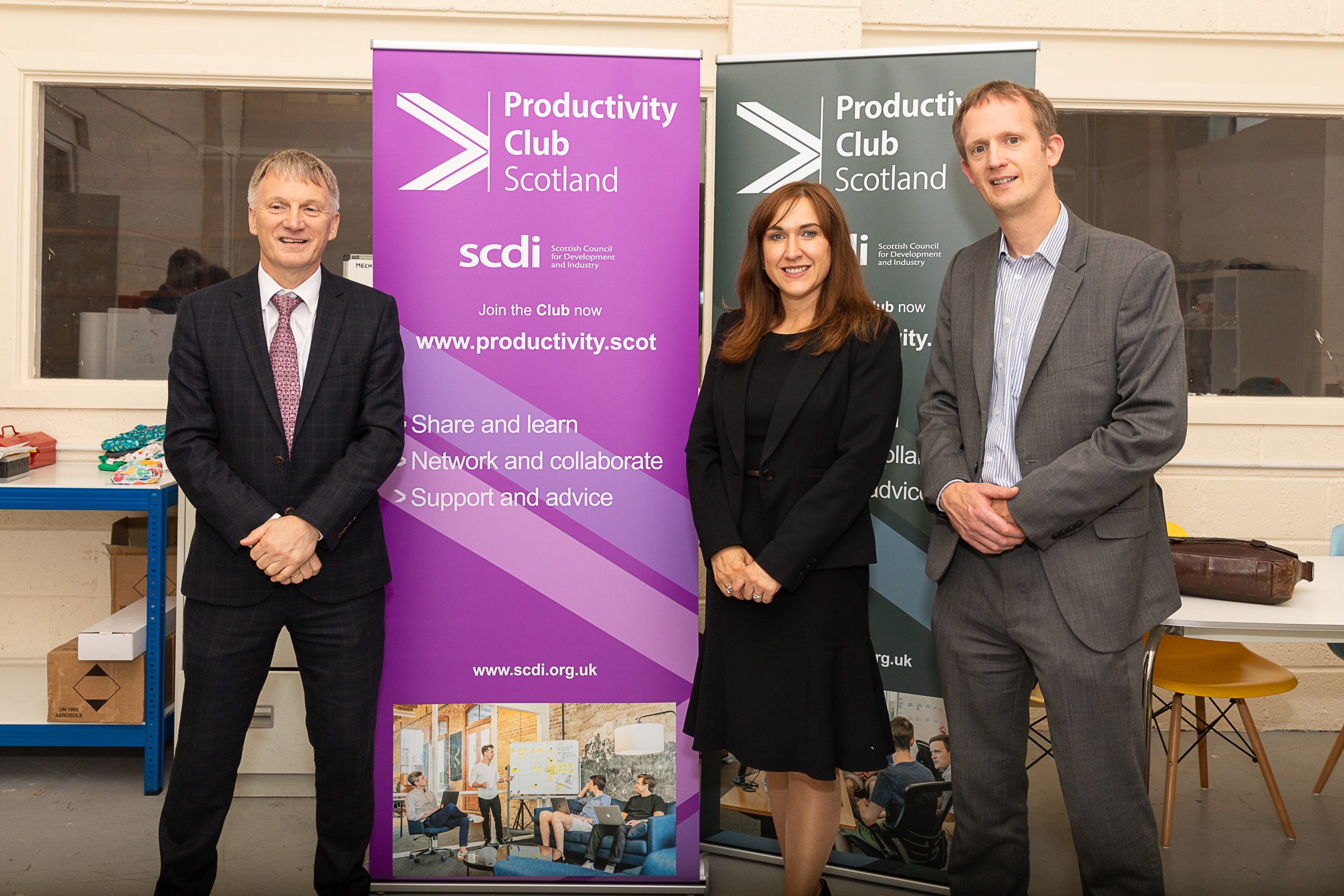 Investment Minister Ivan McKee MSP and SCDI launch Productivity Club Scotland