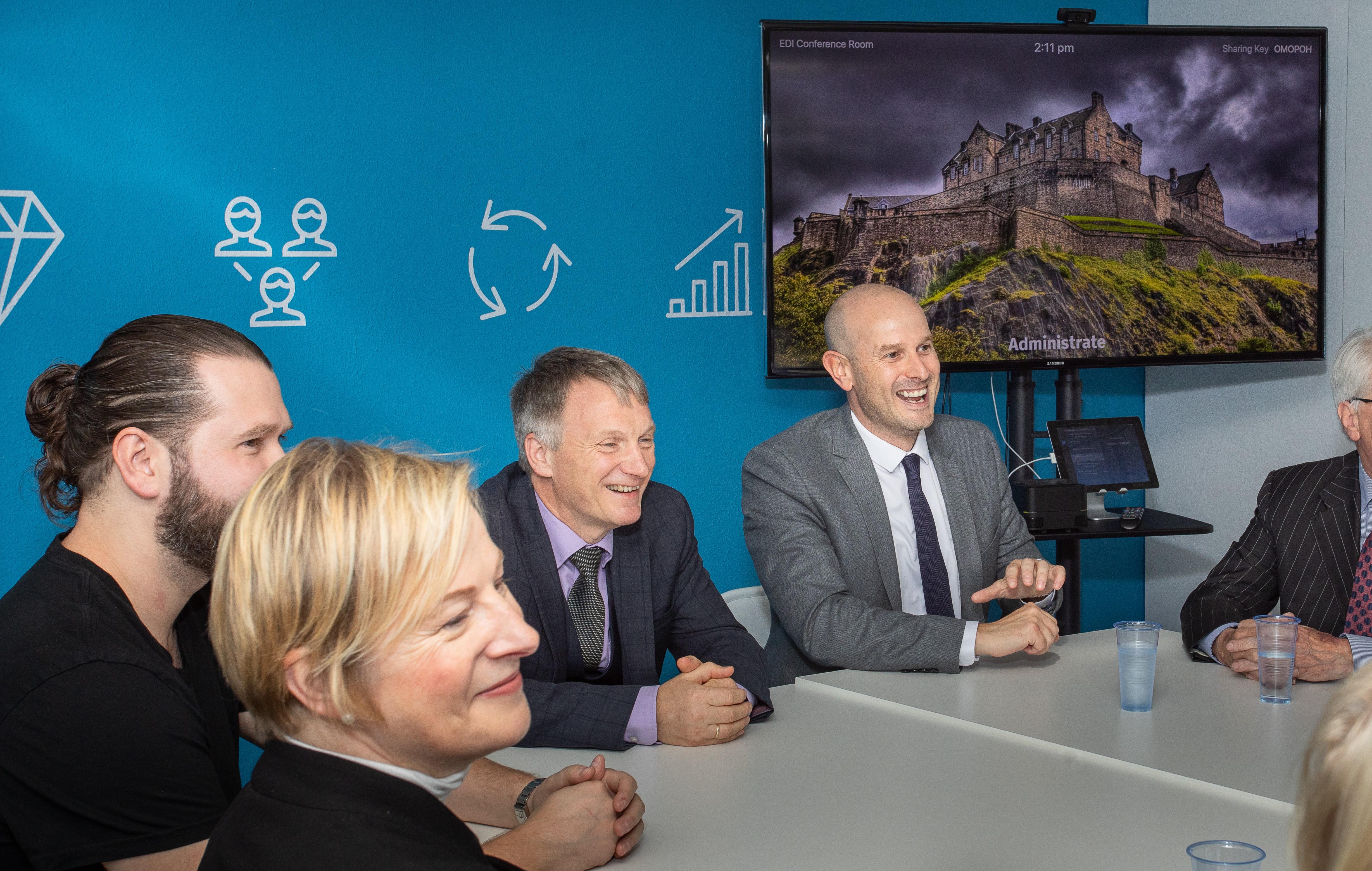 Productivity Club Launch in Edinburgh